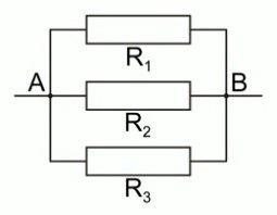 Соединение резисторов параллельно