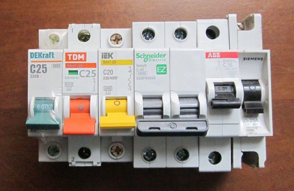 какой электрический автомат лучше выбрать для квартиры