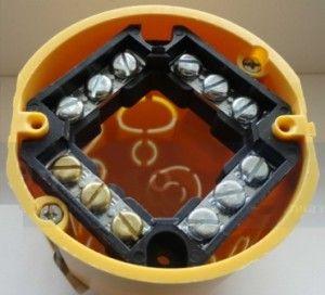 Схема подключения двухклавишного выключателя без распаечной коробки