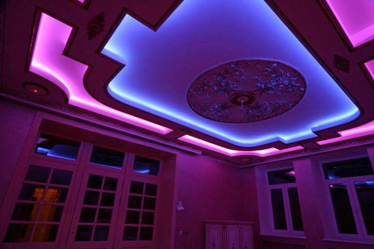 Подсветка в подвесном потолке