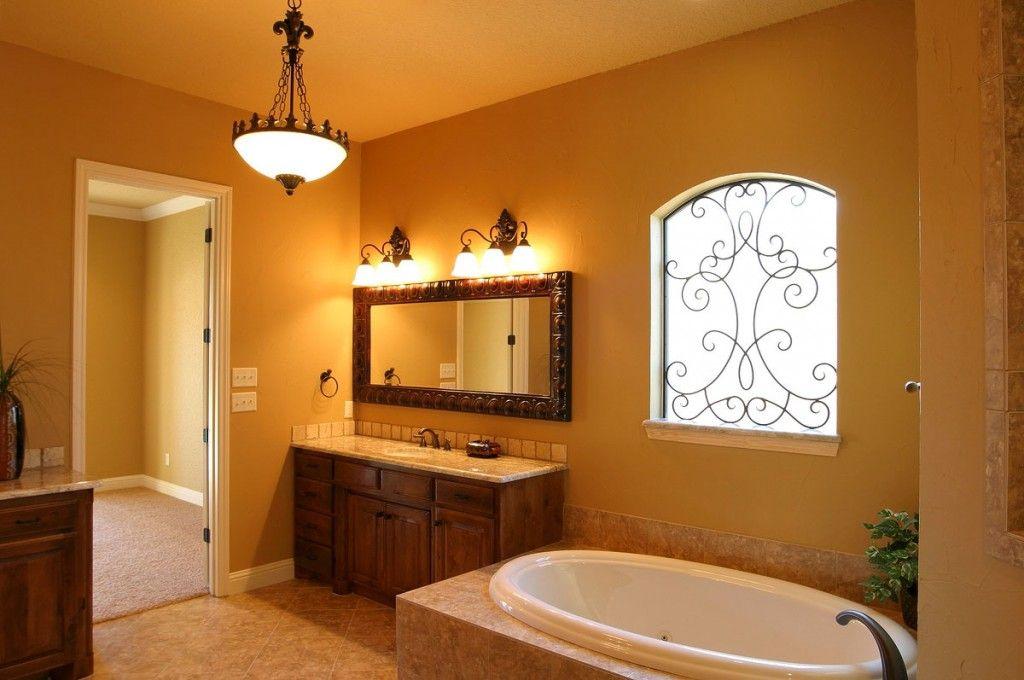 Дизайн ванной свет