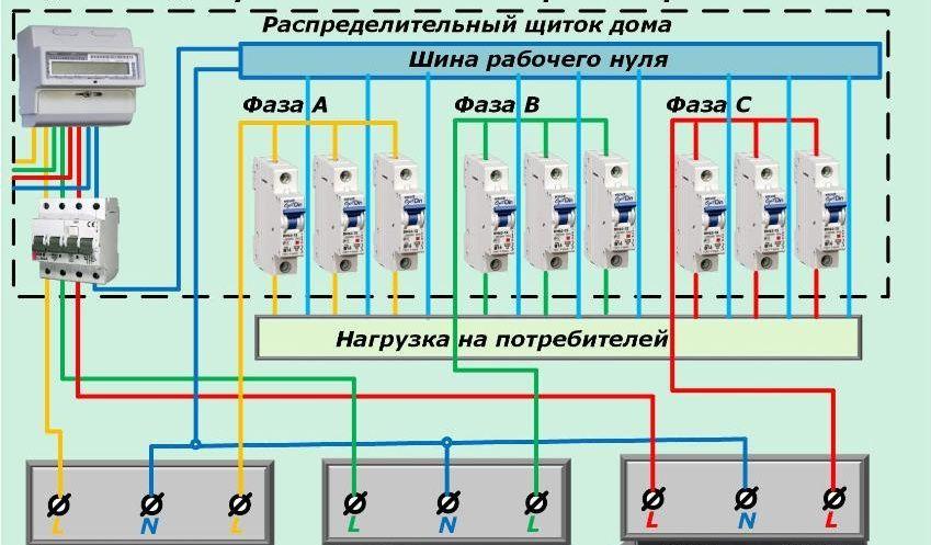 Схема подключения однофазного стабилизатора напряжения фото 976