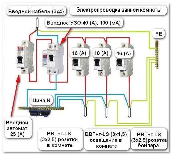 Электропроводка на дачи своими руками