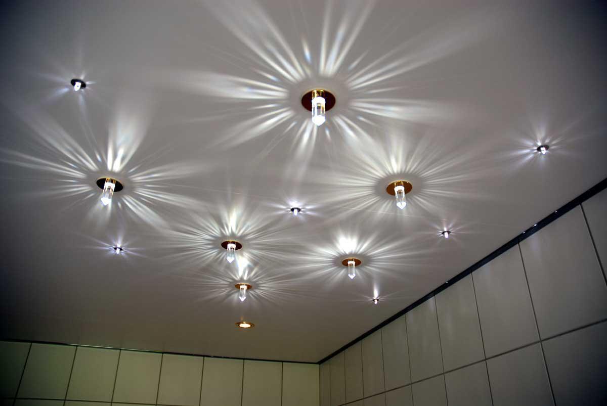Лампы для натяжных потолков фото