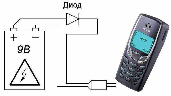 Зарядное устройство для смартфона своими руками