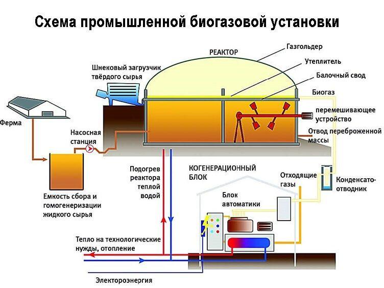 Как в домашних условиях получить биогаз