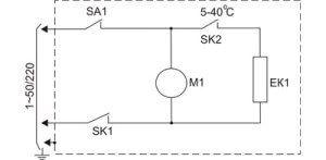 Схема тепловой электрической пушки